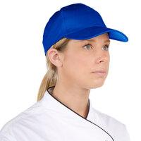 Choice Adjustable Royal Blue Chef Cap