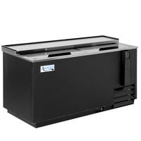 Avantco HBB-65-HC 65 inch Black Horizontal Bottle Cooler