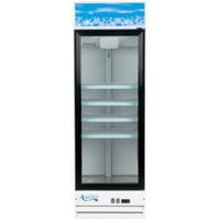 Avantco GDC-15-HC 25 5/8 inch White Swing Glass Door Merchandiser Refrigerator with LED Lighting