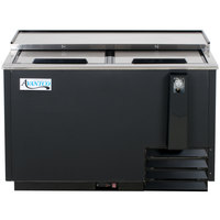 Avantco HBB-50-HC 50 inch Black Horizontal Bottle Cooler