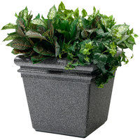 Commercial Zone 724019 StoneTec 18 inch x 18 inch Pepperstone Planter