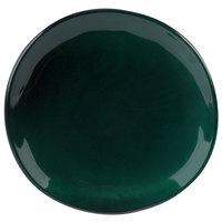 GET CS-7-CSG Cosmo 7 inch Green Melamine Irregular Round Coupe Plate - 12/Case