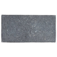 GET SB-1473-GB Madison Avenue / Granville 14 inch x 7 inch Black Melamine Faux Matte Granite Display Board