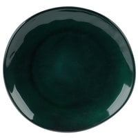 GET CS-9-CSG Cosmo 9 inch Green Melamine Irregular Round Coupe Plate - 12/Case