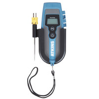 Cooper-Atkins 94020-K EconoTemp Single-Handed -40 to 500 Degrees Fahrenheit Thermocouple with Direct Connect DuraNeedle Probe and Wall Mount