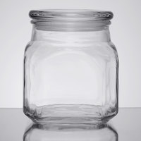 Anchor Hocking 95517 Emma 32 oz. Glass Jar with Lid   - 4/Case