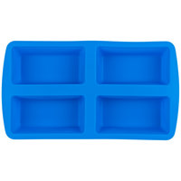 Wilton 2105-4826 Easy-Flex Silicone 4-Compartment Mini Loaf Pan