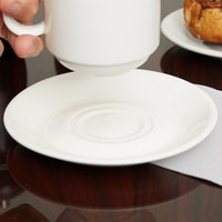 Arcoroc G3751 Daring Porcelain Saucer for G3745 Porcelain Cup by Arc Cardinal - 24/Case