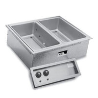 APW Wyott SHFWEZ-4D EZ-Fill 4 Well Insulated Drop In Hot Food Well - 208 / 240V