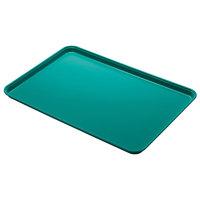 Cambro 1826CL162 18 inch x 26 inch Green Camlite Tray - 12/Case