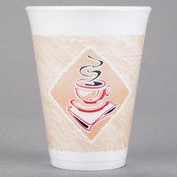 Dart 12X12G 12 oz. Espresso Foam Cup - 20/Pack
