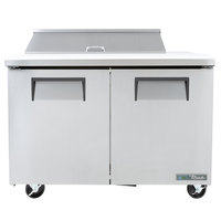 True TSSU-48-10-HC 48 inch 2 Door Refrigerated Sandwich Prep Table