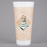 Dart 24X16G ThermoGlaze 24 oz. Cafe G Espresso Foam Cup - 20/Pack