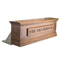 Micro Matic CFD12A 12 Tap Air Cooled Irish Coffin Box - Dark Oak