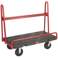 Rubbermaid FG446300BLA A-Frame 48 inch x 24 inch Panel Truck - 2000 lb. Capacity