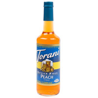 Torani 750 mL Sugar Free Peach Flavoring / Fruit Syrup