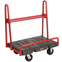 Rubbermaid FG446200BLA A-Frame 36 inch x 24 inch Panel Truck - 2000 lb. Capacity