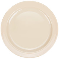 Thunder Group NS106T Narrow Rim Thunder Group Nustone Melamine NS106T 6 1/2 inch Plate - 12/Pack