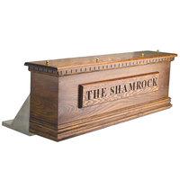 Micro Matic CFD08A 8 Tap Air Cooled Irish Coffin Box - Dark Oak