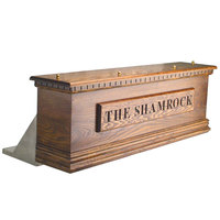 Micro Matic CFD06AKR 6 Tap Kool-Rite Glycol Cooled Irish Coffin Box - Dark Oak