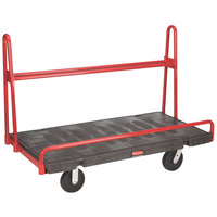 Rubbermaid FG446400BLA A-Frame 60 inch x 30 inch Panel Truck - 2000 lb. Capacity