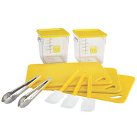 Rubbermaid 1985251 Color-Coded 12 Piece Yellow Kitchen Tool Set