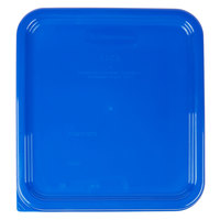 Rubbermaid 1980302 Color-Coded 2, 4, 6, and 8 Qt. Blue Square Food Storage Container Lid