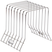 Rubbermaid 1980414 Color-Coded 7 Board Stainless Steel Cutting Board Rack