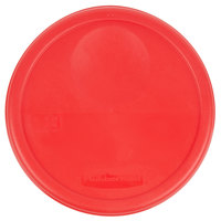 Rubbermaid 1980260 Color-Coded 6 and 8 Qt. Red Round Food Storage Container Lid