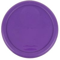 Rubbermaid 1980257 Color-Coded 2 and 4 Qt. Purple Round Food Storage Container Lid