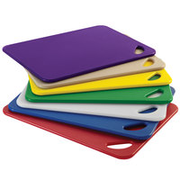 Rubbermaid 1981145 Color-Coded 7 Piece 15 inch x 20 inch Cutting Board Set