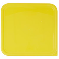Rubbermaid 1980310 Color-Coded 12, 18, and 22 Qt. Yellow Square Food Storage Container Lid