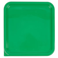 Rubbermaid 1980301 Color-Coded 2, 4, 6, and 8 Qt. Green Square Food Storage Container Lid