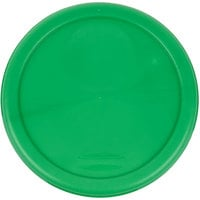 Rubbermaid 1980338 Color-Coded 2 and 4 Qt. Green Round Food Storage Container Lid