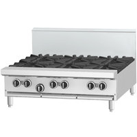 Garland G36-4G12T Natural Gas 4 Burner Modular Top 36 inch Range with 12 inch Griddle - 150,000 BTU