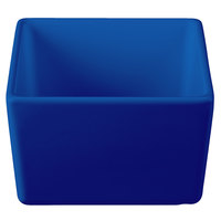 Tablecraft CW4024CBL Contemporary Collection Cobalt Blue 1 Qt. Straight Sided Bowl