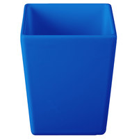Tablecraft CW4012CBL Contemporary Collection Cobalt Blue 1.5 Qt. Straight Sided Bowl