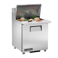 True TSSU-27-12M-B-ADA-HC LH 27 inch 1 Left Hinged Door Mega Top ADA Height Refrigerated Sandwich Prep Table
