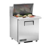True TSSU-27-12M-B-ADA-HC LH 27 inch Mega Top ADA Height Salad / Sandwich Refrigerator with Left Hinged Door