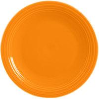 Homer Laughlin 467325 Fiesta Tangerine 11 3/4 inch Chop Plate - 4/Case