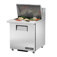 True TSSU-27-12M-B-ADA-HC 27 inch Mega Top ADA Height Salad / Sandwich Refrigerator with Right Hinged Door