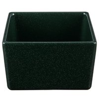 Tablecraft CW4024HGNS Contemporary Collection Hunter Green with White Speckle 1 Qt. Straight Sided Bowl