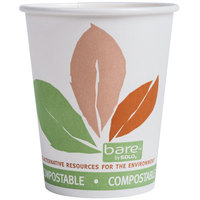 Dart Solo 370PLA-J7234 Bare Eco-Forward 10 oz. Paper Hot Cup - 50/Pack