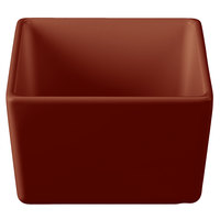Tablecraft CW4000BR Contemporary Collection Brown 24 oz. Straight Sided Bowl