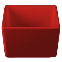 Tablecraft CW4000R Contemporary Collection Red 24 oz. Straight Sided Bowl