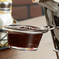 Clipper Mill by GET 4-82002 2 3/4 inch x 3 inch Stainless Steel Cone Wire Basket Sauce Cup Holder