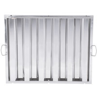 Regency 20 inch x 25 inch x 2 inch Stainless Steel Hood Filter