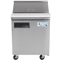 Avantco APT-27 27 inch 1 Door Refrigerated Sandwich Prep Table