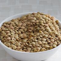 Organic Dried Green Lentils - 25 lb.