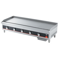 Vollrath 40839 Cayenne 48 inch Flat Top Gas Countertop Griddle - Manual Control